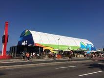 Mega- Speicher Rio 2016 Stockfoto