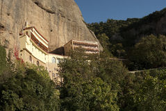 Mega Spilaio monaster w Kalavryta Obraz Royalty Free
