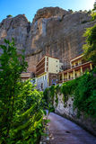 Mega Spileo or Monastery of the Great Cavern. Near Kalavrita, Peloponnese, Greece stock photography