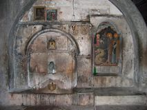 Mega spileo monastery Kalavryta Peloponnese Greece. Europe stock photo
