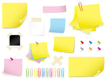 Mega stationery set Stock Photo