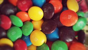 Mega Sweets. Sweet chocolate in bright colors, yum Stock Photo