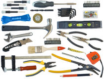 Mega tooling set for the master Stock Images