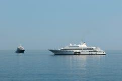 Mega yacht stock photos