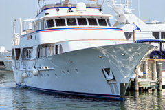 Mega Yacht Royalty Free Stock Image