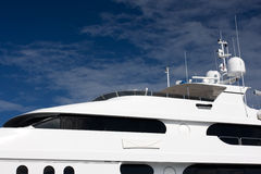 Mega yacht Royalty Free Stock Photography
