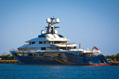 Mega-yacht Royalty Free Stock Images
