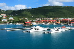 Mega Yachts Royalty Free Stock Image