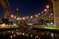 Megabridge in Thailand Royalty Free Stock Photos