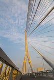 Megabrug in Bangkok (Rama 8 Brug) Stock Afbeelding