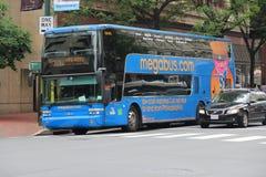 Megabus Stock Photo