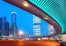 megacity хайвея стоковая фотография rf