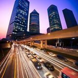 Megacity Highway Stock Photography
