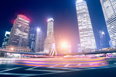 Megacity Highway in China Royalty Free Stock Image