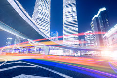 Megacity Highway in China Stock Photos