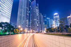 Megacity Highway in China Stock Photography