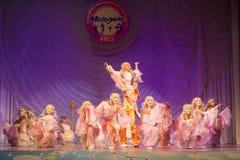 MegaDance舞蹈比赛,米斯克,白俄罗斯 免版税图库摄影
