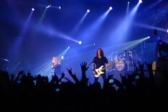 Megadeth playing live Stock Photo