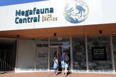 Megafauna zentrale Alice Springs Northern Territory Auastralia stockbild