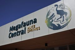 Megafauna zentrale Alice Springs Northern Territory Auastralia stockfotografie