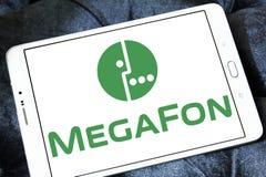 MegaFon telecom operator logo Royalty Free Stock Photography