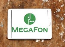 MegaFon-Telekommunikations-Betreiberlogo Stockbild