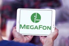 MegaFon-Telekommunikations-Betreiberlogo Lizenzfreies Stockbild