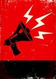 Megafone Imagem de Stock