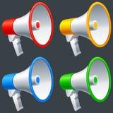 megafoner Royaltyfria Bilder