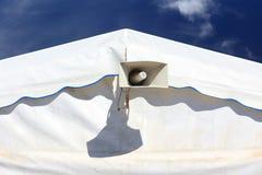 megafonu mówcy namiot Zdjęcia Royalty Free