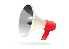 megafonu odosobniony wektor Fotografia Stock