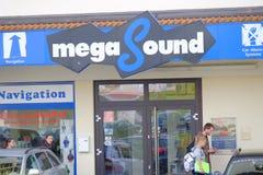 Megageluid Stock Foto's