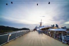 Megagwiazda gemini statek wycieczkowy fotografia royalty free