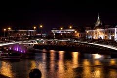 Megalópoli de la noche Fotos de archivo