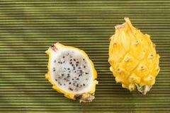 Megalanthus de Selenicereus de fruit de Pitahaya Images libres de droits