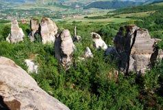 Megalit i geologiskt parkerar royaltyfri foto
