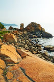 Megalith seaside Stock Photography