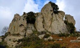 Megalithe Argimusco Stockbild