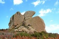 Megalithe Argimusco Stockbilder