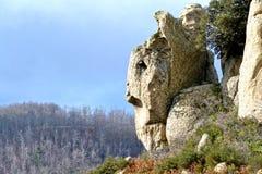 Megalithe Argimusco Lizenzfreie Stockfotos