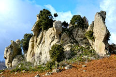 Megalithe Argimusco Lizenzfreies Stockbild