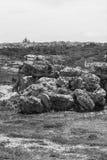 Megalithentempel auf Malta Stockbild