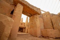 Megalithentempel-Tür lizenzfreie stockbilder