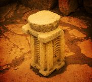 Megalithic βωμός στοκ εικόνες