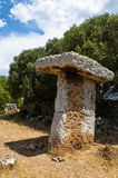 megalithic επιτραπέζιο torretrencada στοκ φωτογραφίες