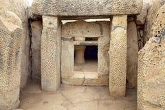 Megalithic ναός, Μάλτα στοκ εικόνα