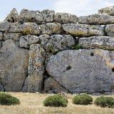 Megalithic ναός στη Μάλτα στοκ εικόνα με δικαίωμα ελεύθερης χρήσης