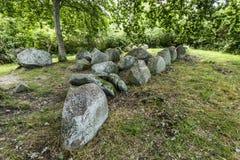 Megalithic τάφος στοκ φωτογραφίες