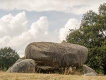 Megalithic утесы в Дренте Стоковые Фотографии RF