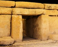 Megalithic Entrance Royalty Free Stock Photo
